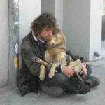 Homeless cuddling dog by Kirsten Starcher 2 1