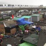 Homeless Encampment Oakland CA 1